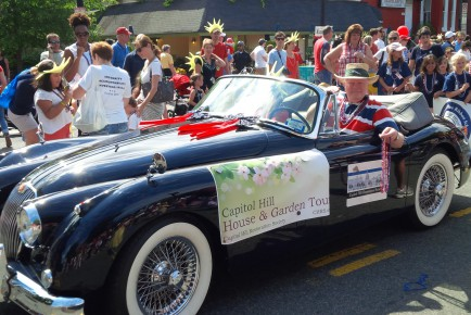 CHRS contingent in Capitol Hill July 4 parade