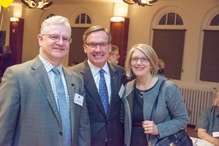 Patrick Crowley, Stephen Ayers (Architect of the Capitol), and Mamie Bittner - 6oth Anniversary Party