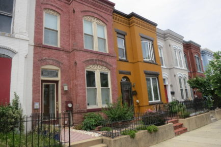 Beautiful Emerald Street - now a Historic District