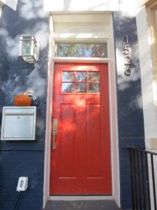 Craftsman style replacement door