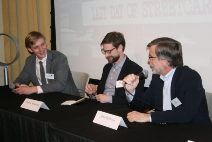 Panel discussion with John Hillegass, 2019 Dick Wolf Winner